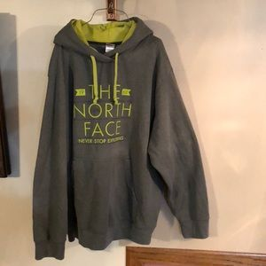 XXL The North Face men's hoodie sweatshirt